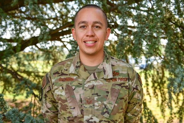 """For this """"We Are All Wyverns"""" we'd like to introduce you to Staff Sgt. Camilo Guzman, 31st Civil Engineer Squadron Water and Fuels System Maintenance technician!"""