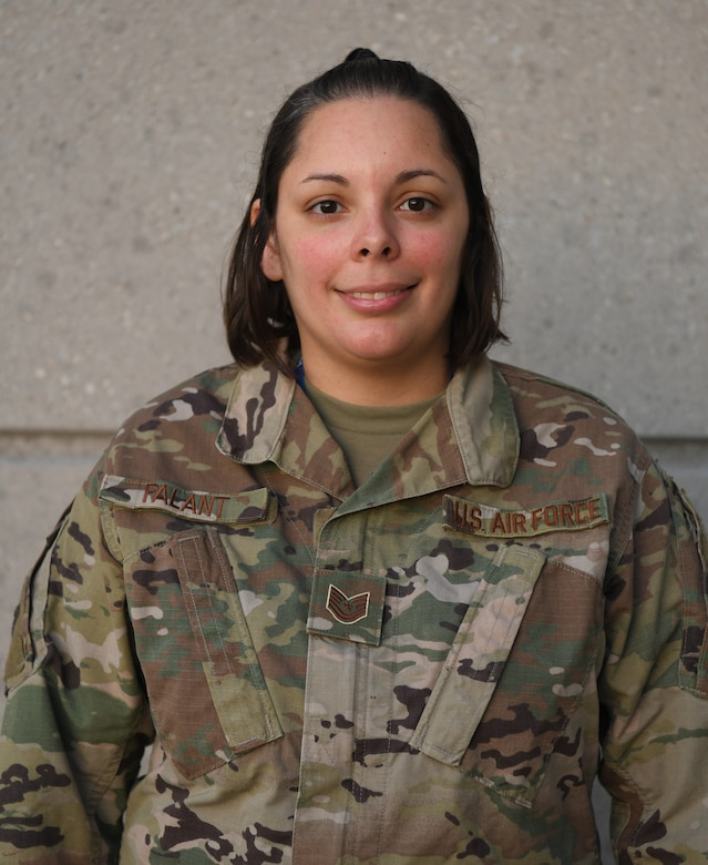 Tech. Sgt. Jana Palant, 655th Intelligence, Surveillance and Reconnaissance Group NCO in charge of readiness and training, was coined by Chief Master Sgt. of the Air Force JoAnne Bass Oct. 2, 2021, for being an exceptional performer in her unit.   Palant is an outstanding performer because she provided primary support to a quick-turn tasker in support of Operation Allies Welcome (OAW).  She immediately engaged with five units, identifying 160 possible linguists that could be short-noticed tasked to support OAW translator duties. Once the tasking came from Air Force Reserve Command, she rapidly notified three chains of command and started responding the potential deployer questions. Within 24 hours of the deployment requirement, Palant's efforts led to the deployment of six linguists in support of OAW and ensured the safe evacuation and amalgamation of more than 6,000 vulnerable Afghans into the United States.