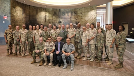 The Texas National Guard hosted senior officers from the Egyptian Armed Forces for a week-long summit at the end of September. The Texas National Guard formally established a partnership with the Arab Republic of Egypt through the National Guard State Partnership Program in June.