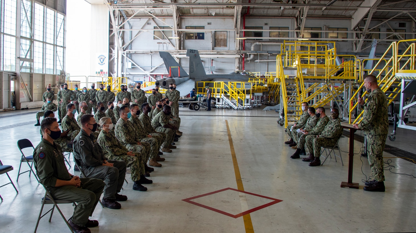 Naval Aviation Maintenance Center for Excellence – Training (NAMCE-T) graduates its first class of 17 Sailors onboard Naval Air Station Oceana, Oct. 8.