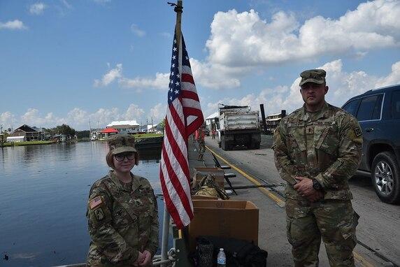 Army Reserve bridge company supports Louisiana National Guard in DSCA mission