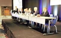 CBRND leadership speak on a panel at the 2021 CBRN Defense Conference