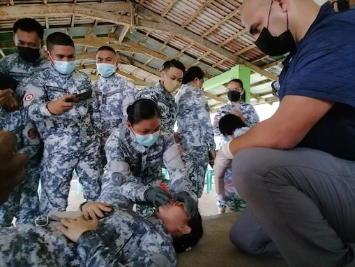 U.S. Military and Philippine Coast Guard Conduct Tactical Combat Casualty Care Training