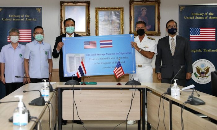 Remarks by Admiral John C. Aquilino at the Ministry of Public Health Cold Storage mRNA Vaccine Refrigerator Donation Event