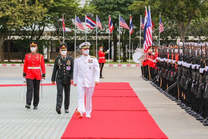 U.S. Indo-Pacific Commander Reaffirms Alliance During Visit to Thailand