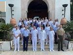 Military leaders from across Europe, Africa, and the United States as well as several regional and international organizations completed a three-day Senior Leadership Symposium as a continuation of exercise Phoenix Express in Tunis, Tunisia, Sept. 27-29, 2021. Exercise Phoenix Express 2021, conducted by U.S. Naval Forces Africa, is an at-sea maritime exercise designed to improve cooperation among participating nations in order to increase maritime safety and security in the Mediterranean.