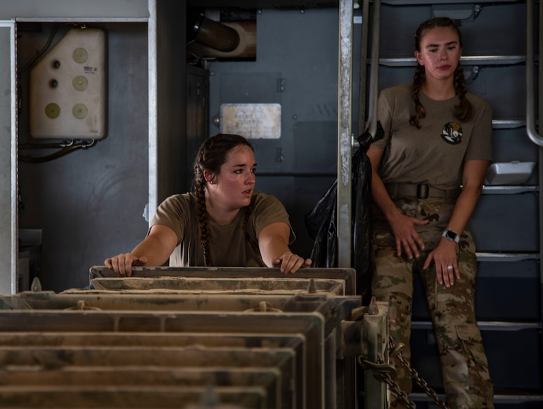 AUAB all-female aircrew takes charge