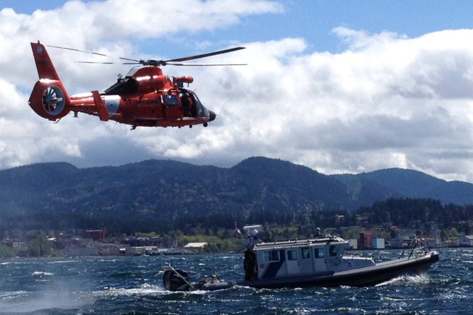 Multiple U.S. and Canadian partner agencies planned and executed four large-scale interagency, binational operations throughout the summer. The various maritime law enforcement and security missions were held to deter illicit activities in the region, uphold multi-agency interoperability, and to ensure mission capabilities throughout the Puget Sound, San Juan Islands, and Strait of Juan de Fuca. (Courtesy photo)