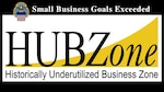 By Congressional mandate, government contracting agencies must meet annual goals of awarding contracts to small businesses, including HUBZone-certified businesses. This is the first year DLA has exceeded the goal in more than a decade.