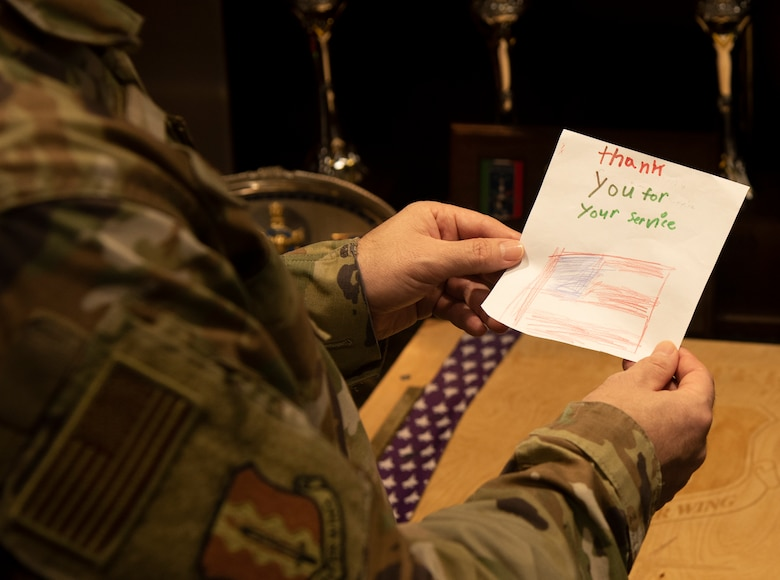 Letters to vets