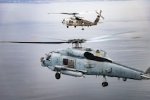U.S. Navy and JMSDF Helicopter Squadrons Conduct Bi-lateral Exercises