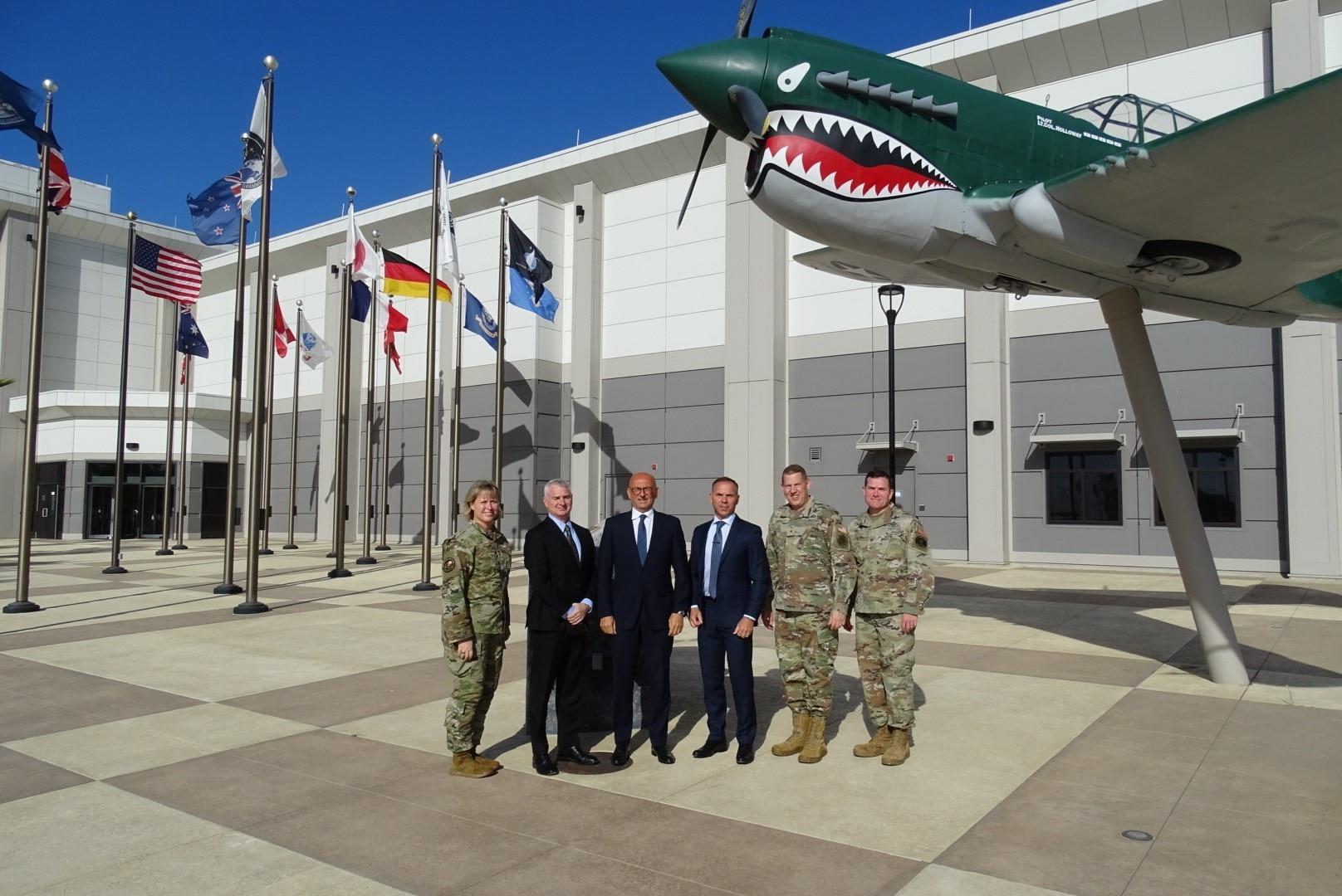 NATO delegation visits CFSCC