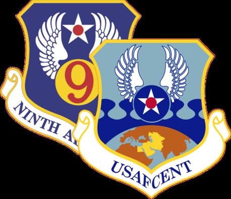 9AF/AFCENT Combined Patch Logo