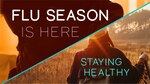 FLU SEASON IS HERE AND GETTING YOUR FLU VACCINE IS THE BEST WAY TO STOP THE SPREAD.