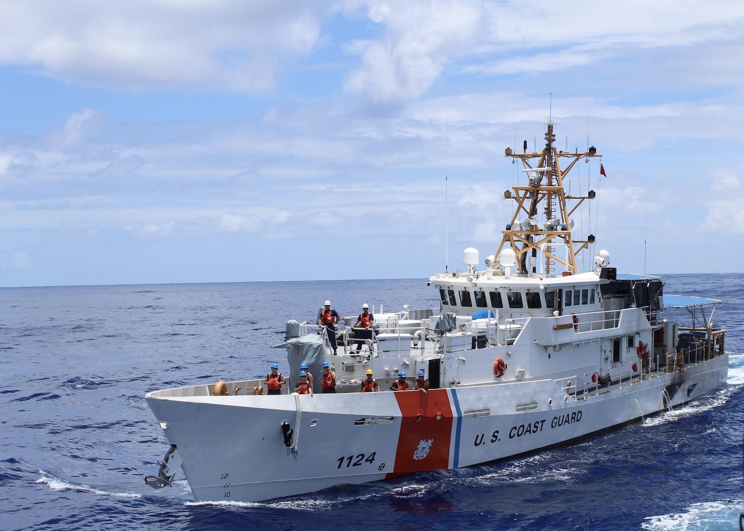 Coast Guard cutter crews conclude Operation Aiga in Oceania
