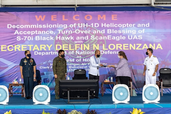U.S. Military Delivers Advanced Unmanned Aerial System to Philippine Air Force