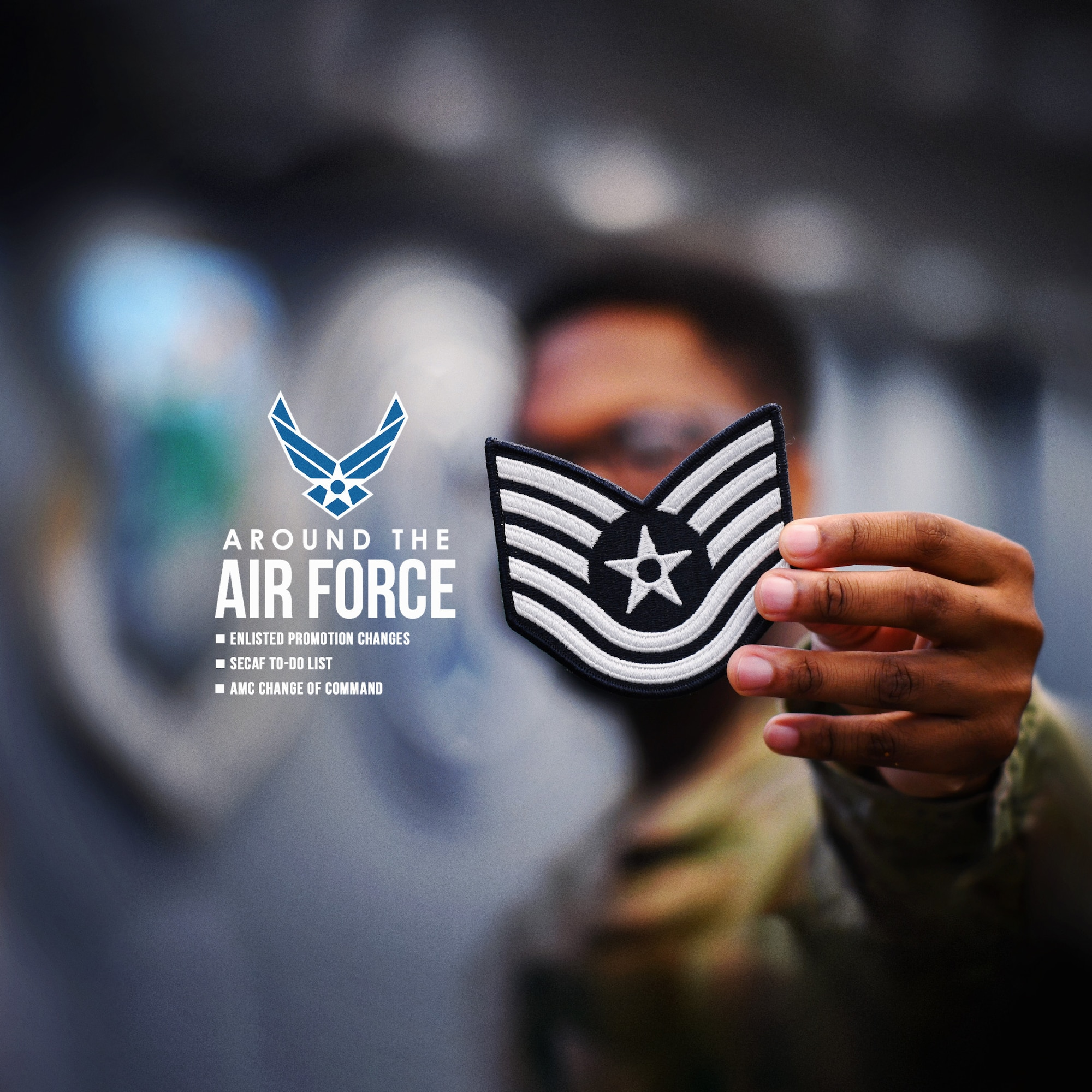 This week's look Around the Air Force includes changes to the Enlisted Evaluation System, Secretary of the Air Force Frank Kendall discusses the future for Airmen and Guardians, and Air Mobility Command welcomes a new commander. (Hosted by Staff Sgt. Britt Crolley)