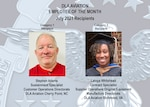 Hard-work pays off: July employees of the month receive recognition for a job well done