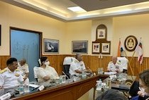 CNO visits Western Naval Command headquarters, delivers keynote address to Indian Navy