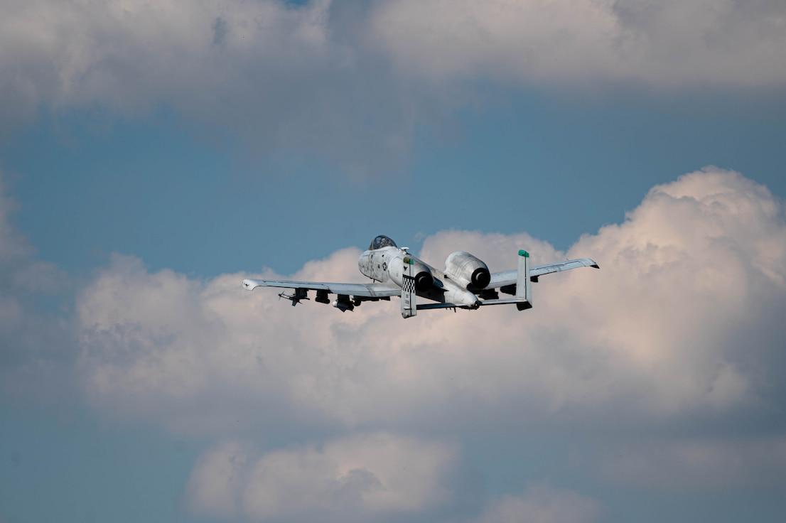 "A-10 Thunderbolt II ""Warthog's"" takes flight over Osan Air Base"