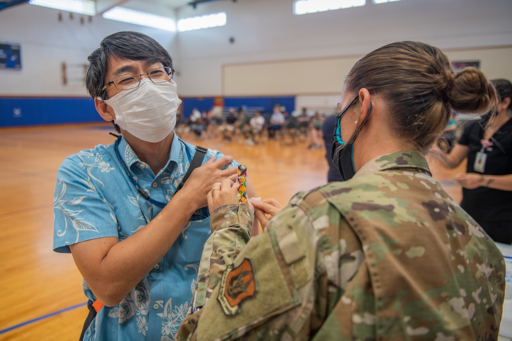 Japanese Employees Receive 2nd Dose of COVID Vaccine at Kadena Air Base