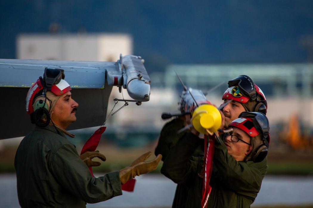 Cowboys Conduct Flight Operations