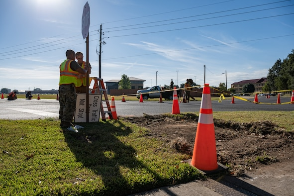 The 2CONS, 2nd Civil Engineering Squadron and 2nd Comptroller Squadron are responsible for maintaining, supplying, and coordinating construction across all of Barksdale AFB's 22,000 acres.