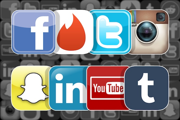 Social Media icons (Malmstrom AFB graphic)