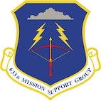 633 Mission Support Group Shield