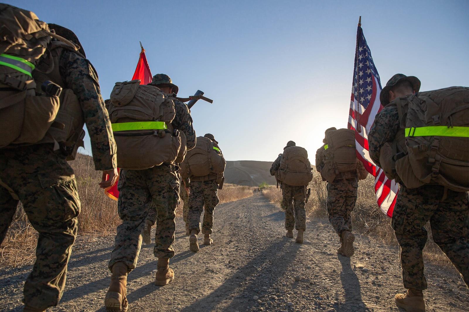1st Supply Battalion Hike.