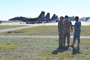 Castle Forge phase one complete: Strike Eagles soar alongside NATO allies