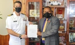 The United States Defense Attaché Visits Minister of Defense