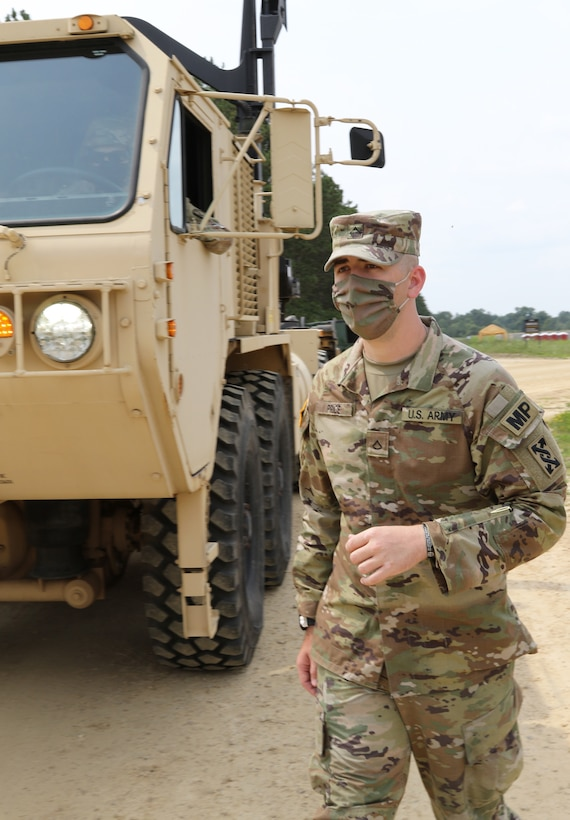 Soldiers arrive for CSTX