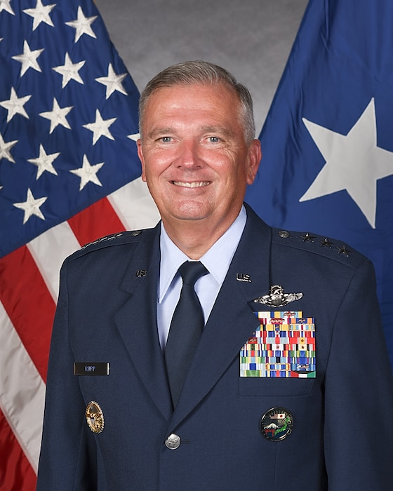 This is the official portrait of Lt. Gen. Ricky N. Rupp.