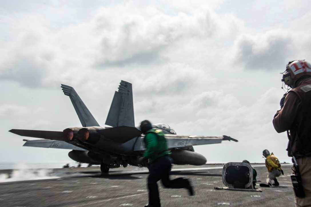 USS Tulsa operates with Carl Vinson Carrier Strike Group