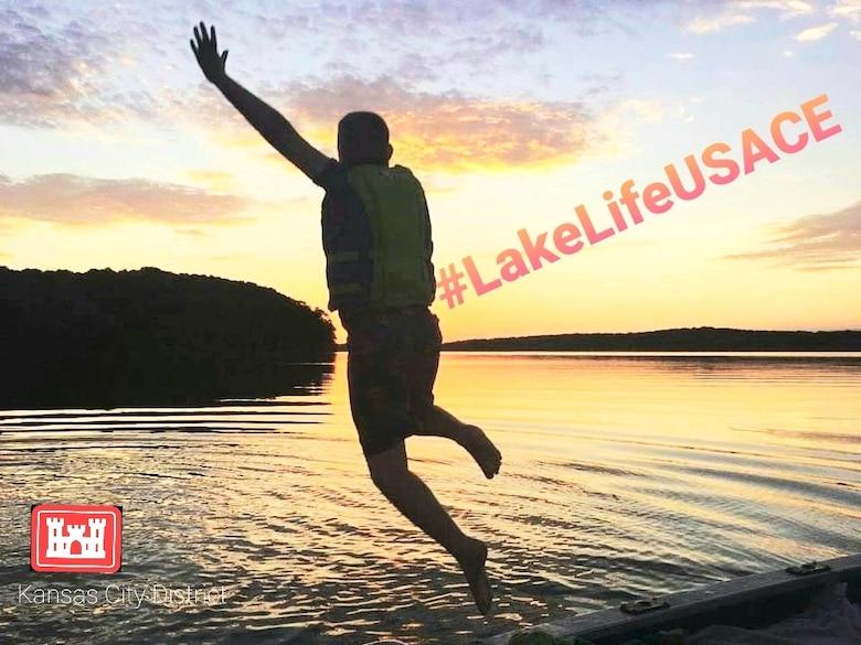 You can find us enjoying #LakeLifeUSACE at Blue Springs, Harry S. Truman, Long Branch, Longview, Pomme de Terre, Smithville, Stockton lakes in Missouri; Clinton, Hillsdale, Kanopolis, Melvern, Milford, Perry, Pomona, Tuttle Creek and Wilson lakes in Kansas; Harlan County Lake in Nebraska and Rathbun Lake in Iowa.