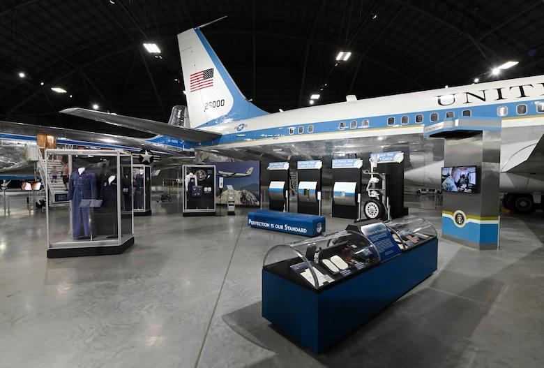 Flying the President exhibit