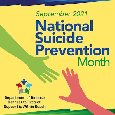 A graphic on National Suicide Prevention Month.