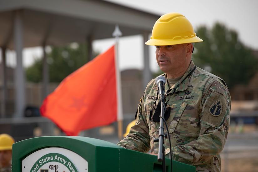 Groundbreaking ceremony on modernization