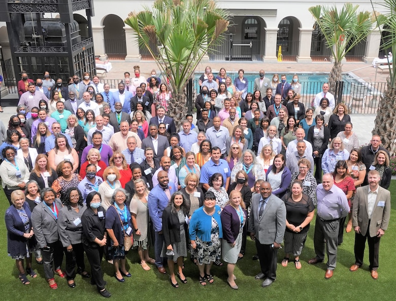 Air Force 2021 Civilian Personnel Summit attendees.