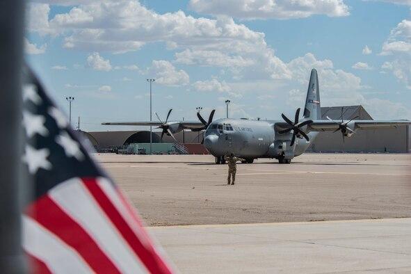 Photo of a C-130J Super Hercules