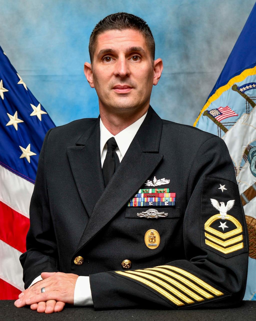 Command Senior Chief Blake R. Wohl