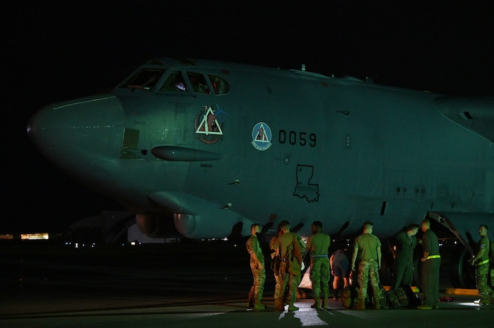 B-52s deploy to Indo-Pacific for Bomber Task Force