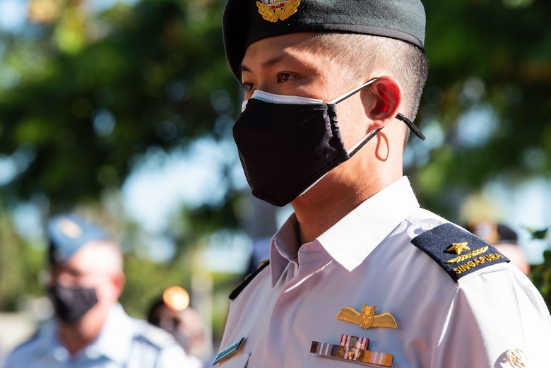 Photo of Republic of Singapore Air Force Brig. Gen. Lau Boon Ping, RSAF Chief of Staff