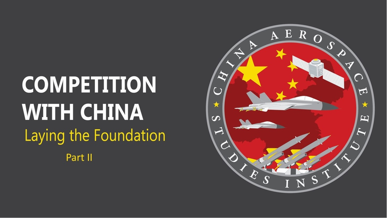 Dr. Brendan Mulvaney, director, China Aerospace Studies Institute, discusses China fundamentals in this 2nd of a three-part series.