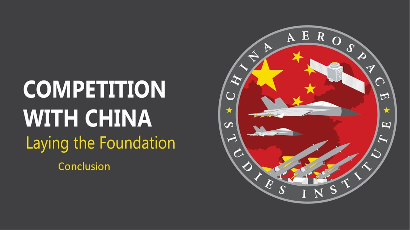 Dr. Brendan Mulvaney, director, China Aerospace Studies Institute, discusses China fundamentals in this 3rd of a three-part series.