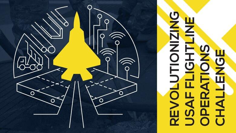 Graphic for AFWERX revolutionizing flightline challenge