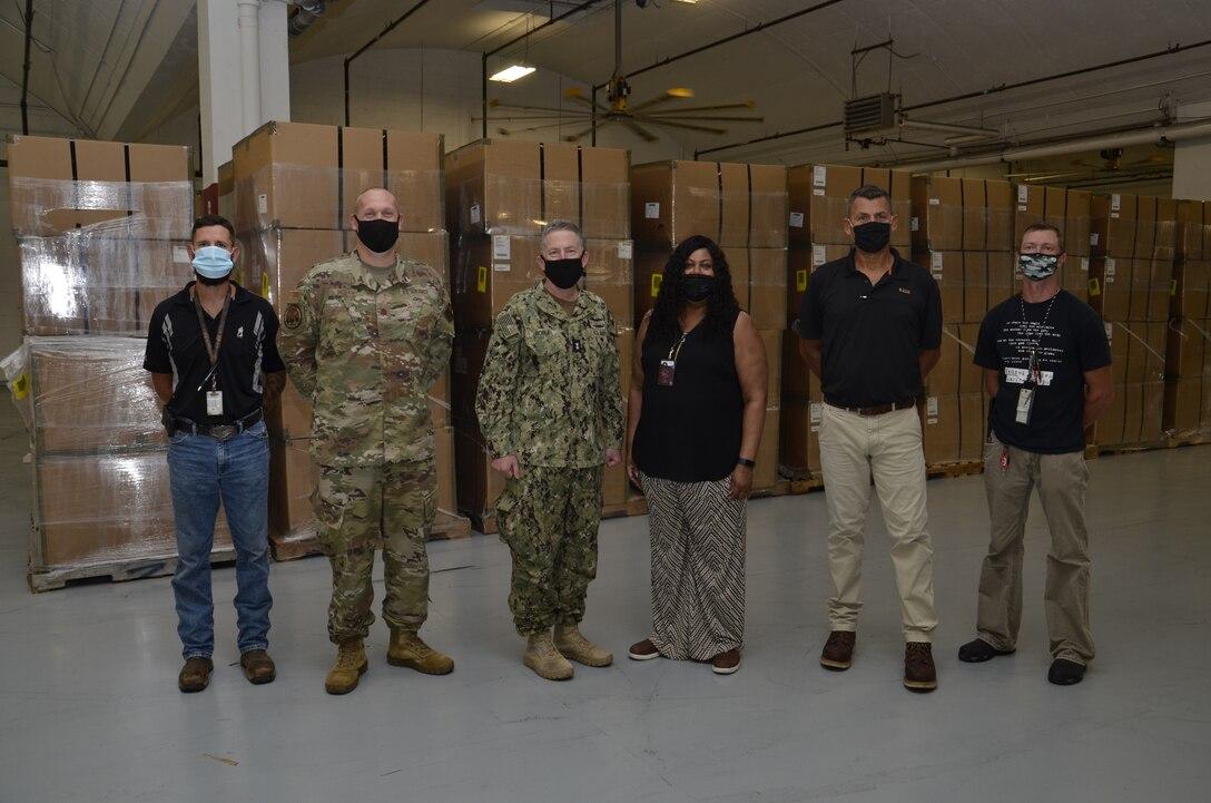 Group shot of DLA staff