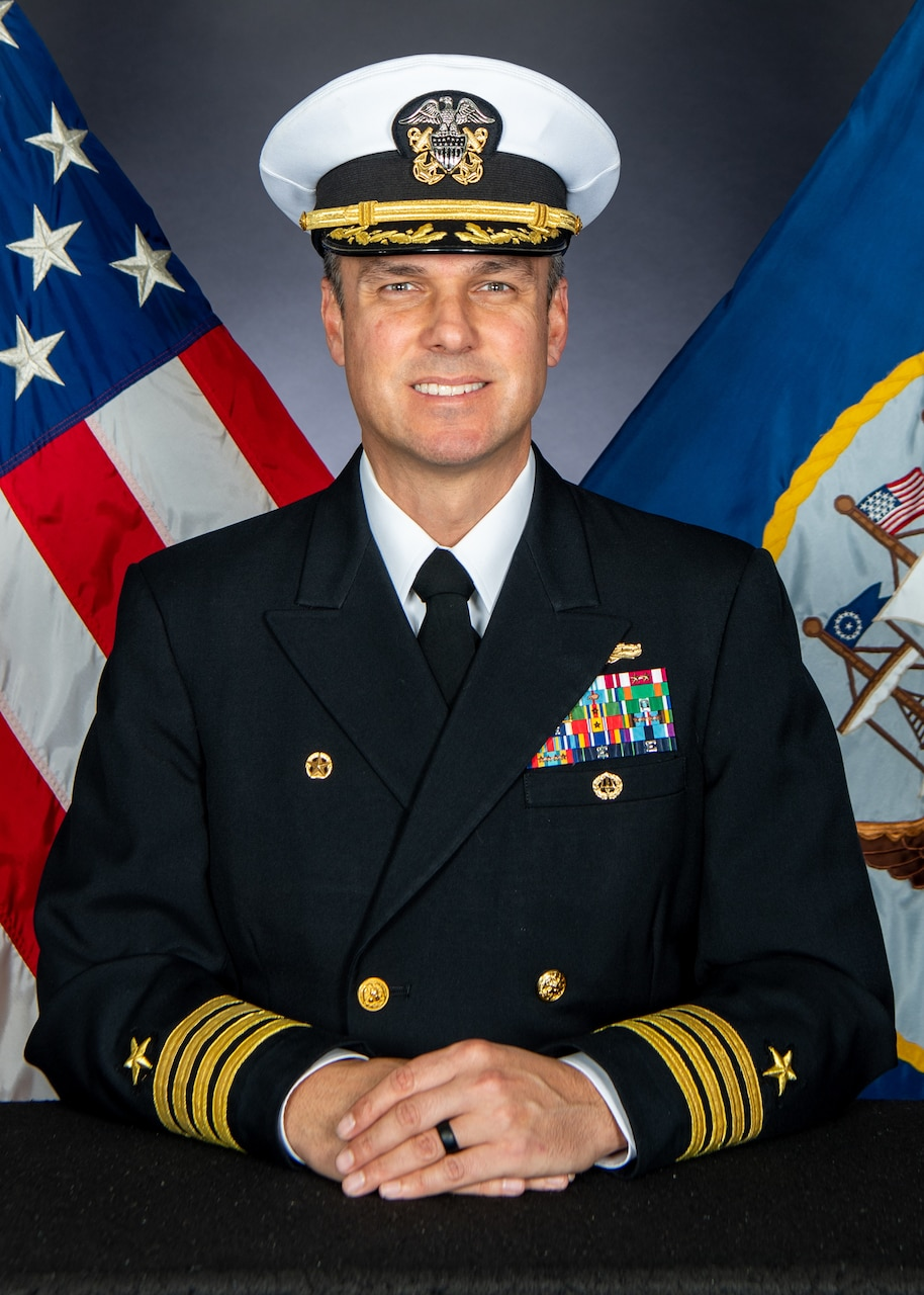 Captain Gilbert E. Clark