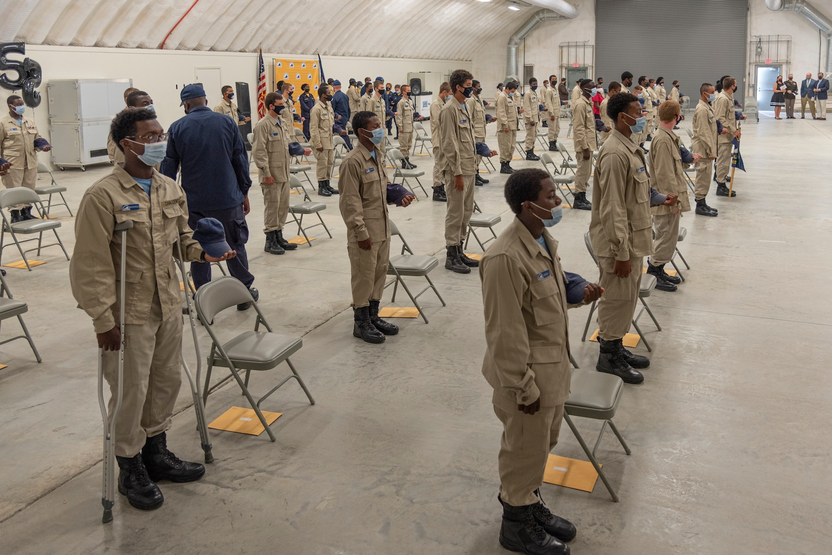 Commonwealth ChalleNGe graduates 59 cadets from Class 55